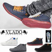 【激安!】VLADO FOOTWEAR ブラドフットフェア メンズ ミドルカットスニーカー<ラスト1点>