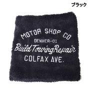 【2017AW】刺繍入り ボア ネックウォーマー【防寒雑貨】