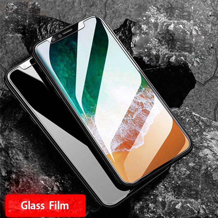 液晶保護ガラスiPhone X 8 8plus 7 7plus/薄さ0.26mm 表面硬度9H 2.5Dラウンドエッジ/
