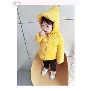 冬服 新しいデザイン 赤ちゃん コットン コットンコート 男児 手厚い 綿が詰めジャケッ