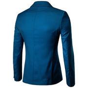 ビジネス レジャー スーツ バックル スーツ アウターウェア 男性服装 カラー ダークグ