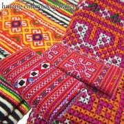 モン族の古布が味わい深い長財布です♪モン族刺繍ウォレット