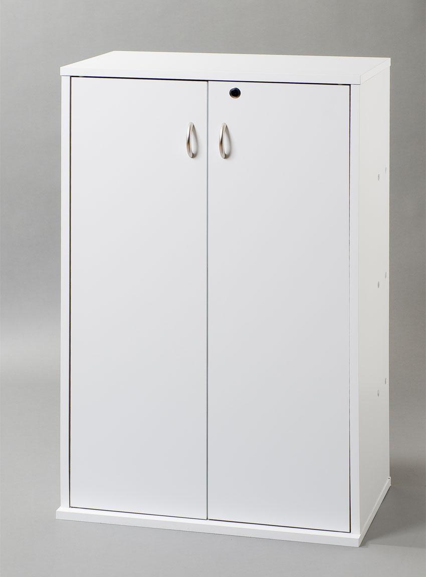 AV 鍵付収納名人(マルチタイプ) ホワイト  日本製