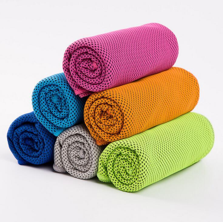 高機能冷感タオル 極冷ICE アイスタオル 熱中症対策 リバーシブル UVカット 長時間冷感 メッシュ 洗濯可