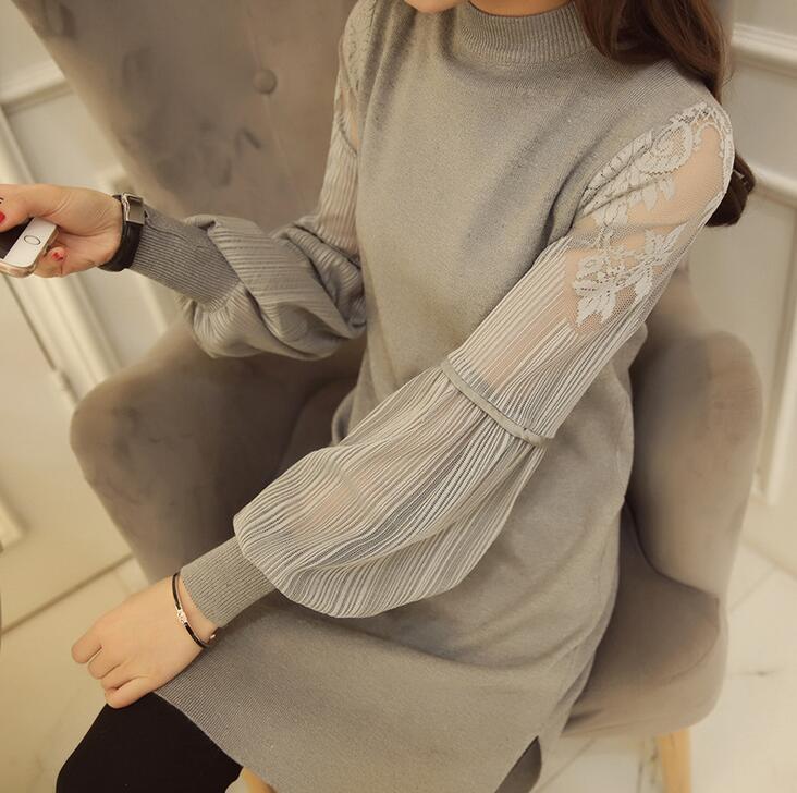 ニットワンピース レディース ワンピース ニット 韓国ファッション セーター