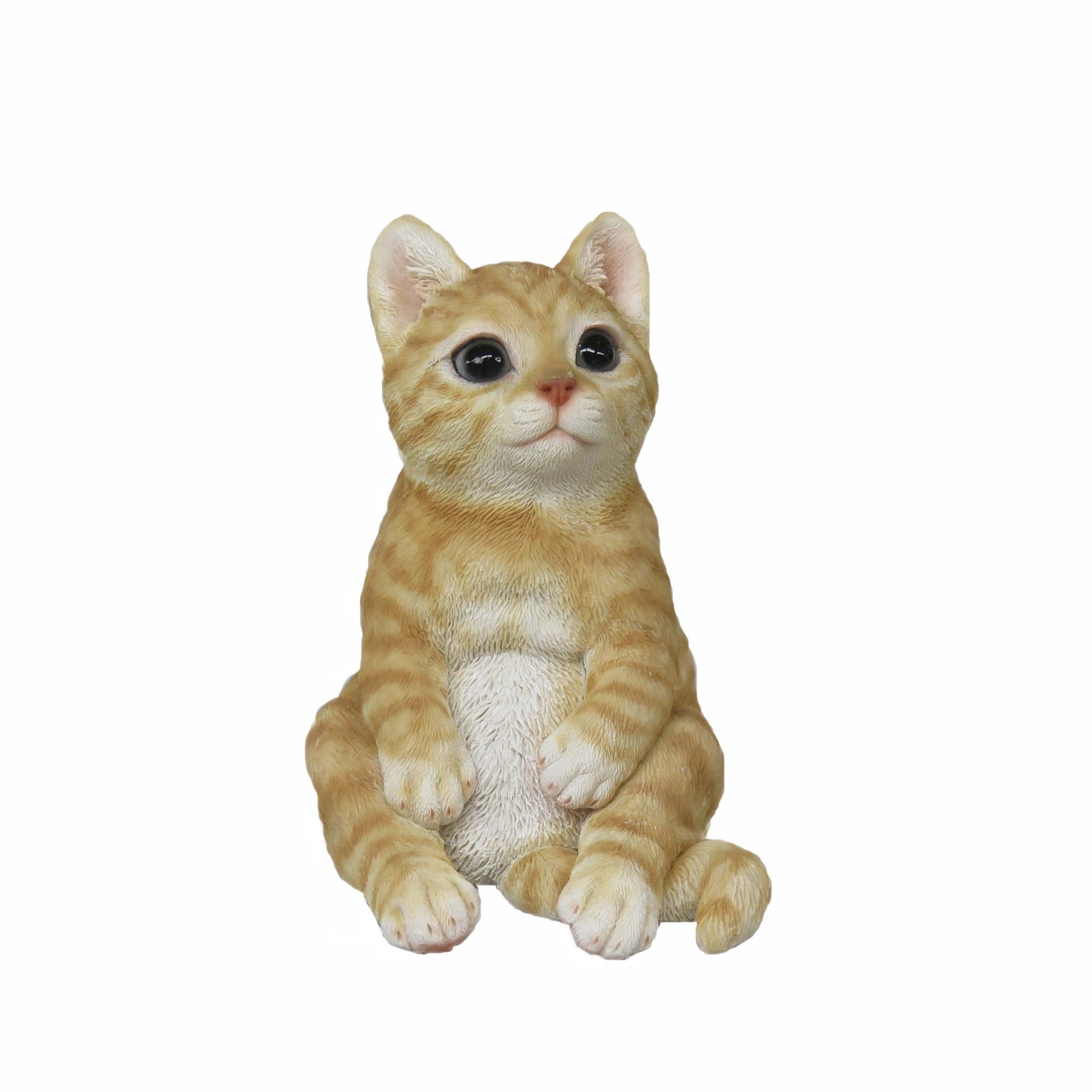 <AMANO>【レジン製ネコ】おすわりCAT2種