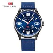 送料無料 MINI FOCUSメンズ スポーツ カレンダー  腕時計MF-62