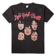 ヴィンテージ風 ロックTシャツ New York Dolls ニューヨーク ドールズ