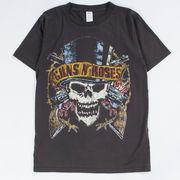ヴィンテージ風 ロックTシャツ Guns N' Roses ガンズ アンド ローゼズ North American Tour 1989