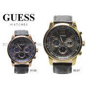 S) 【ゲス ウォッチ】 W0380 G5 G7 ゲス 腕時計 ホライズン アナログ クオーツ 全2色 メンズ
