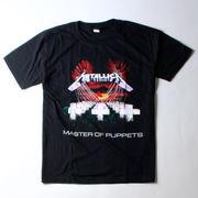 ロックTシャツ Metallica メタリカ MASTER OF PUPPETS