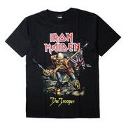 ロックTシャツ Iron Maiden アイアン メイデン The Trooper