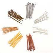 8g Tピン 選べる7カラー 9サイズ16―45mm ハンドメイド DIY 基礎金具 留め具 材料 手芸パーツ