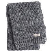正規品 ホリスター メンズ マフラー Hollister Knit Scarf (ダークグレー)