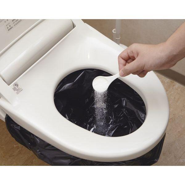 緊急時のトイレ40回分 凝固剤のみ ABO-2040N