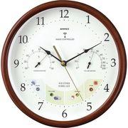エンペックス ウェザーパル電波時計 1台4役 BW-873