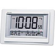 セイコー 温・湿度表示付電波時計 SQ432W