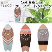 ■キーストーン■ Sea&Sun サーフボードクロック