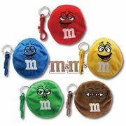 【M&M's】コインケースキーチェーン〈カラフルチョコレートのM&M'sのポーチ〉