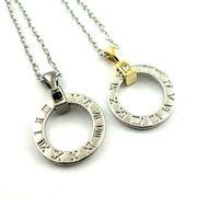 グリークナンバーリングネックレス ★ペア★指輪★プレゼント★ギリシャ数字★ゴールド