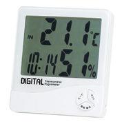 (クロック/ウォッチ)(ウェザー/カレンダー時計/温湿時計)デジタル温湿度計 TD-8140