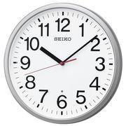 SEIKO セイコー 掛け時計 電波 アナログ 銀色メタリック KX230S