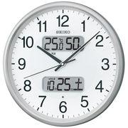 SEIKO セイコー 掛け時計 電波 アナログ カレンダー 温度 湿度  KX383S