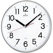 SEIKO セイコー 掛け時計 電波 アナログ 白 KX301H