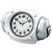 SEIKO セイコー 目覚まし時計 アナログ 大音量 ベル音 ライデン NR438W