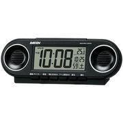 SEIKO セイコー 目覚まし時計 電波 デジタル 大音量 ライデン NR531K
