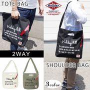 バッグ メンズ レディース ショルダーバッグ トートバッグ 2way 布 キャンバス 帆布 ロゴ A4