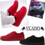 【激安!】VLADO FOOTWEAR ブラドフットフェア メンズ ローカットスニーカー<2カラー><ラスト2点>