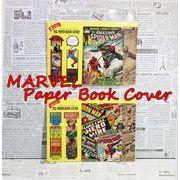 [sale] ブックカバー / MARVEL Paper Book Cover / しおり付きセット / 【日本製】