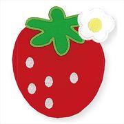 【通園・通学】ビッグワッペン イチゴ