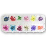 押し花 ドライフラワー 12色セット ネイル