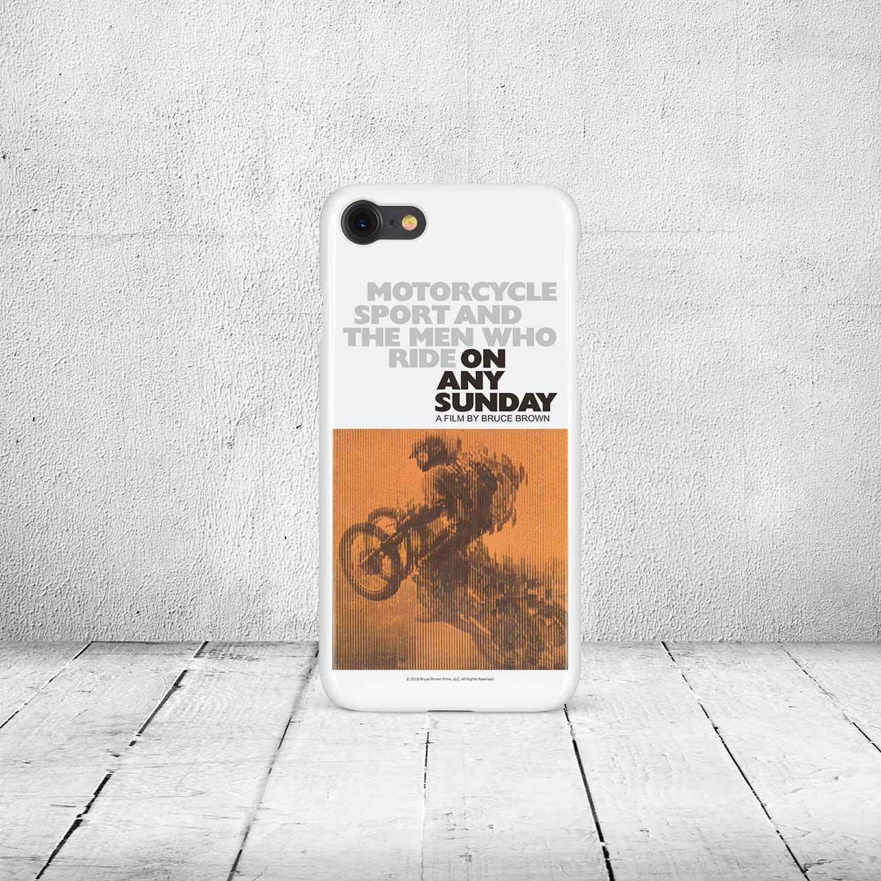 【ブルース・ブラウンフィルム】iPhone7 & 8ケース・On Any Sunday (オンエニーサンデイ)・オリジナル