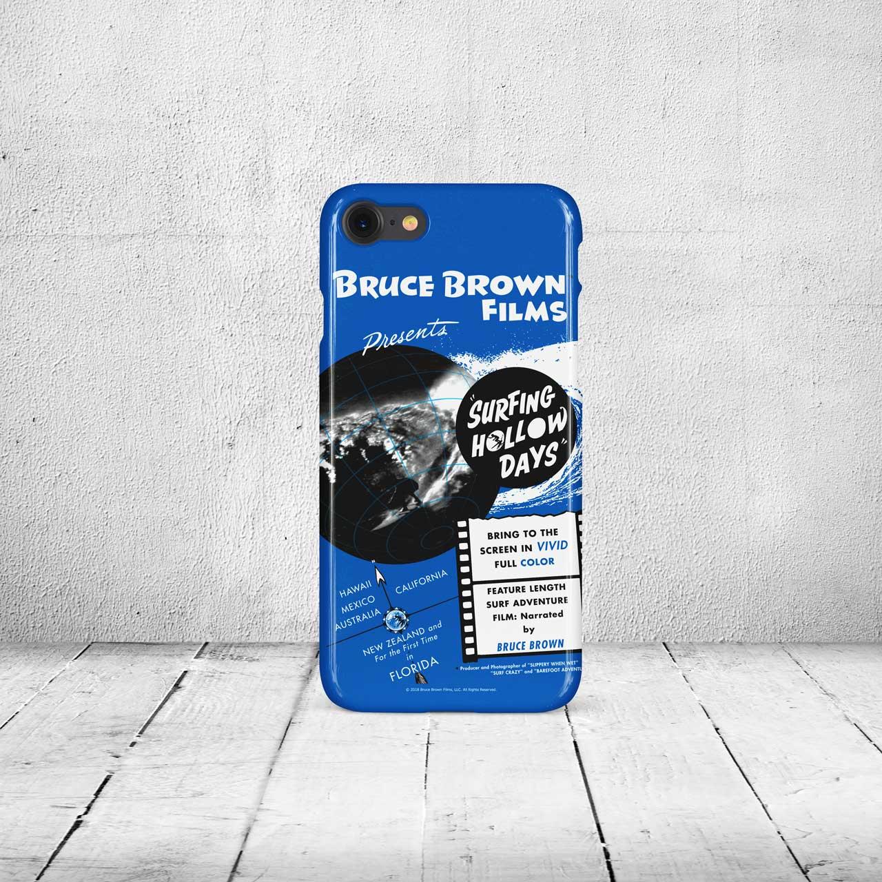 【ブルース・ブラウンフィルム】iPhone7 & 8ケース・Surfing Hollow Days (サーフィンホローデイズ)