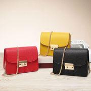 ★バッグ新作★レディース バッグ ショルダーバッグ ファッション シンプル チェーン 8色