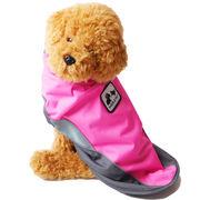 着せやすい レインコート 犬の服 ドッグウェア 犬服 カッパ マジックテープ 雨具
