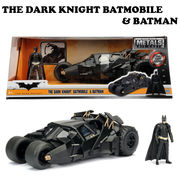 2008 THE DARK KNIGHT BATMOBILE W/BATMAN【バットモービル】【JADA ミニカー】