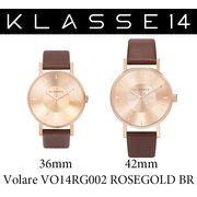 【まとめ割10%OFF】KLASSE14 クラス14 腕時計 VOLARE VO14RG002 36mm 42mm ローズゴールドxブラウン
