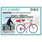 (在庫限り)FIELDCHAMP CROSSBIKE 700C 6SF レッド 品番MG-FCP700CF-RD(代引不可)