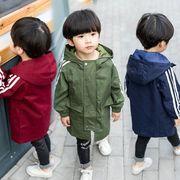 全3色★男の子 ストラップ スプリングコート★アウター ジャケット カジュアル キッズ 子供服