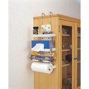 【引っ掛けるタイプの収納BOX♪】キッチンホルダー