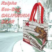 Ralphs エコバッグ CALIFORNIA BEAR