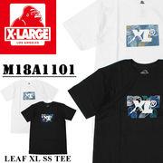 ◇2018春夏新作◇X-LARGE エクストララージ XL ロゴプリント Tシャツ<LEAF XL><ラスト4点>