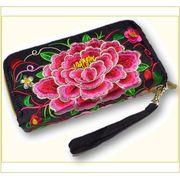 モン族刺繍財布(Wファスナー)1101297