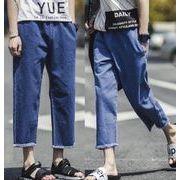 新型★男 ファッション★デニムパンツ★カジュアル パンツ