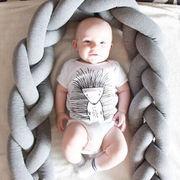 格安!北欧 INS★撮影写真★ベッドガード★ノットクッション★ベッドフェンス★結び目抱き枕★サイズ選択
