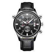 送料無料 bz メンズ クロノグラフ カレンダー腕時計 b-25